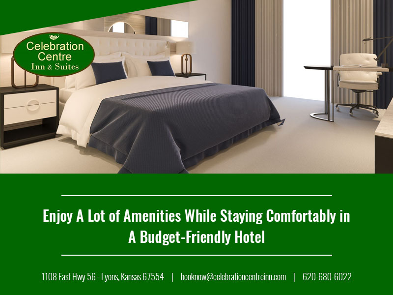 Enjoy A Lot of Amenities  While Staying Comfortably in A Budget-Friendly Hotel